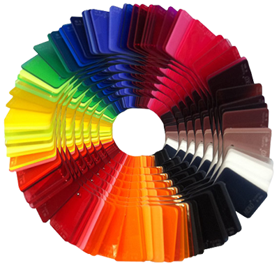 Acrylglasplatten