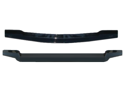 Wind deflectors for front windshield