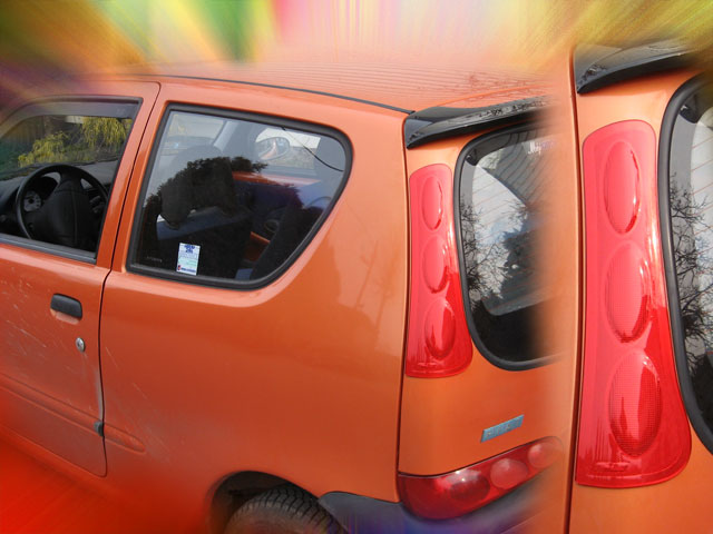 wind deflector FIAT SEICENTO 1